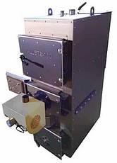 Твердотопливный пиролизный котел DM-STELLA 40 кВт с автоматическим золоудалением, фото 2