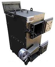 Твердотопливный пиролизный котел DM-STELLA 40 кВт с автоматическим золоудалением, фото 3