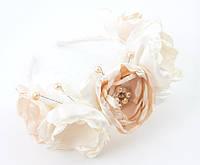 Свадебный венок из роз