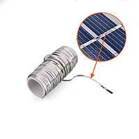 Соединительная шина 1,6 мм, используется для спайки солнечных модулей, прочная, тянется на 20%, длина 15 м