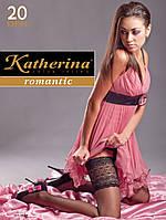 Чулки с широкой резинкой Katherina calze 20 den