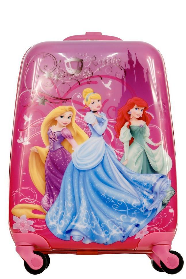 4faf526357c2 Детский пластиковый чемодан на колесиках Три Принцессы Диснея Princess  Disney - flycase.prom.ua
