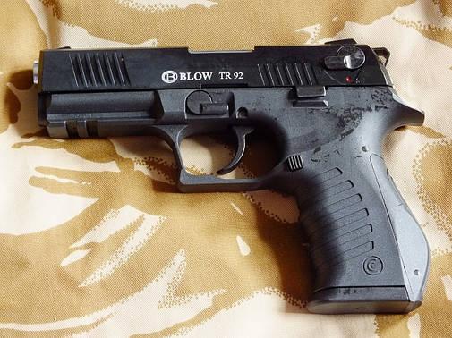 Сигнальный пистолет Blow TR 92 с дополнительным магазином, фото 2