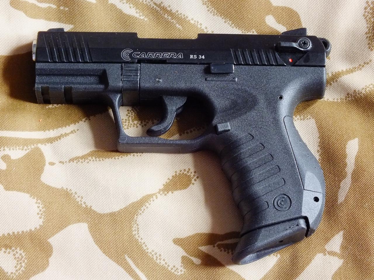 Стартовий пістолет Carrera Arms RS34