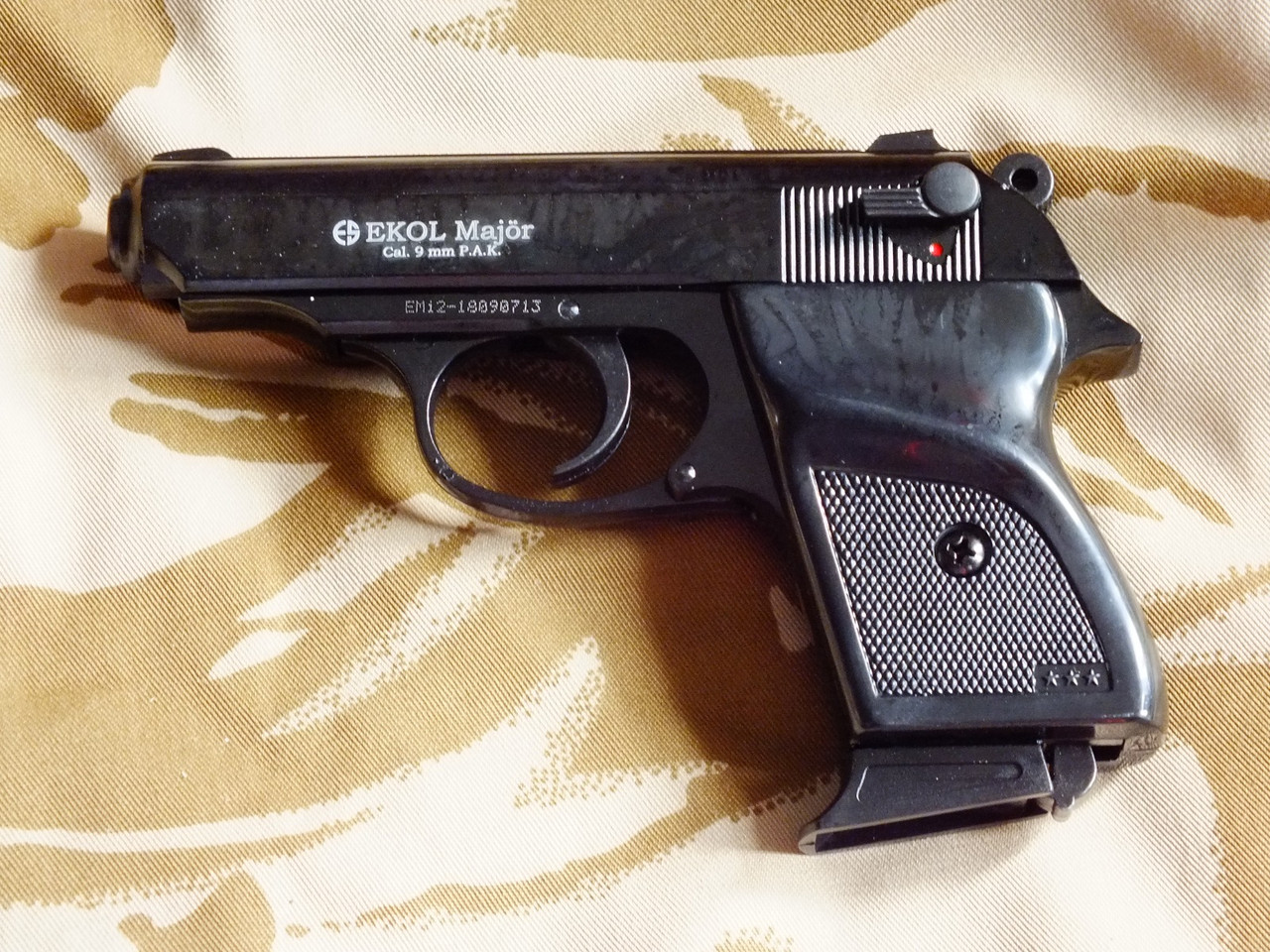 Сигнальный пистолет Ekol Major Black