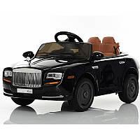 Детский электромобиль Rolls-Royce M 3587 EBLRS-2: 2.4G, EVA, 7 км/ч, кожа - Черный (Покраска)-купить оптом , фото 1