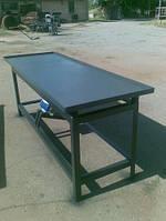 Вибростол для производства тротуарной плитки и заборов 2,1 м х 0,8 м (380В), фото 1