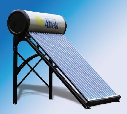Напірний водогрійний сонячний колектор Altek SP-H1-15
