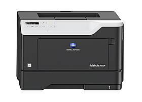 Монохромный принтер Konica Minolta bizhub 3602P формата А4. Скорость печати 36 стр/мин.