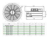 Вентилятор осевой Бахчиван Bahcivan BSM 300, фото 2