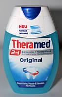 Theramed Original 2in1 зубная паста-ополаскиватель для рта 75мл., фото 1