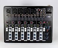 Аудио микшер Mixer BT4000 4 канала bluetooth