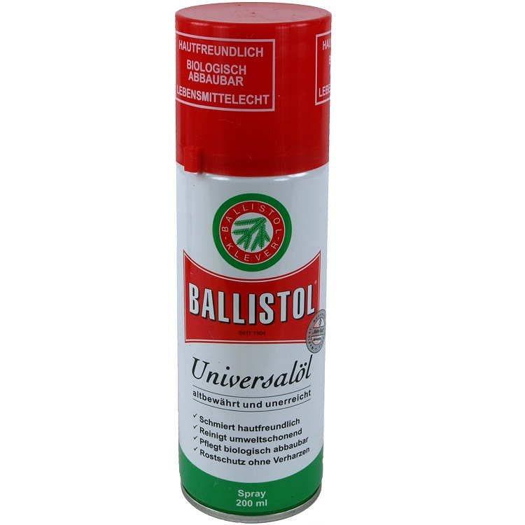 Масло оружейное Klever Ballistol 200 мл.(спрей)