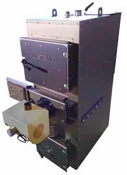 Пиролизный котел на пеллетах DM-STELLA 30 кВт