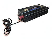 Преобразователь инвертор 12V-220V 2500W с зарядкой, фото 1