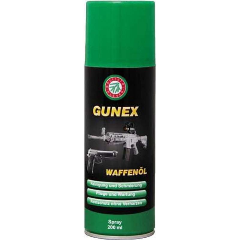 Масло оружейное Klever Ballistol Gunex 200 мл.(спрей)