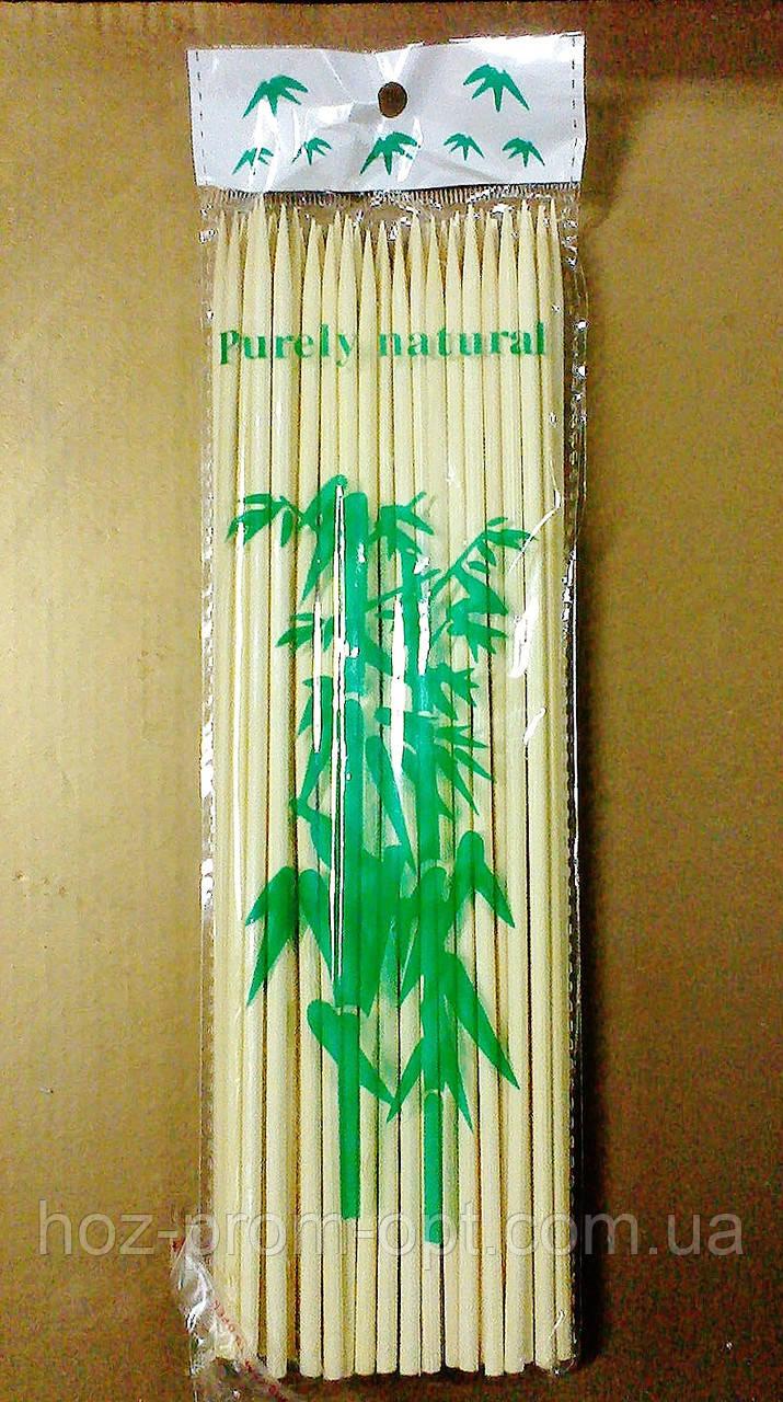 Палочки для шашлыка 195мм/90шт, бамбук.