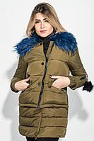 Куртка женская с отстегивающимся низом  (Хаки)