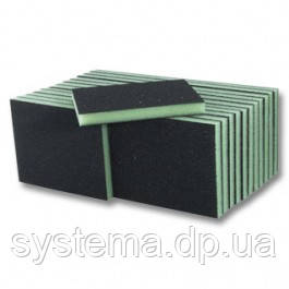 3M Губка шлифовальная 2-сторонняя, Р400-500 - Sponge Pad, 125x98x13 мм, SFIN, 68025, фото 2