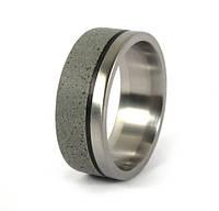 Необычное обручальное кольцо для мужчин от Wickerring