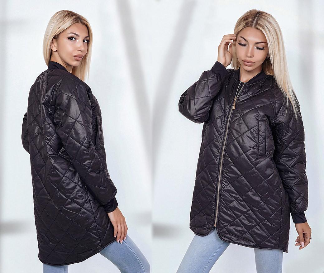 426adf0f5a3 Женская стильная куртка на синтепоне 1686