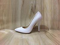 Туфли Лодочки белые женские