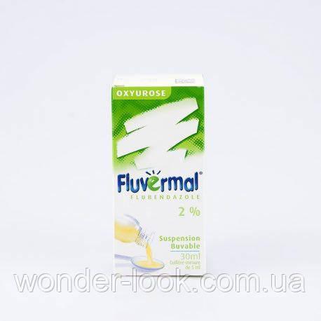 Fluvermal антипаразитный сироп для дітей з 1 року і дорослих
