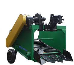 Картоплекопач для мотоблока транспортерна КМТ-1