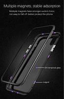 Магнитный чехол на Iphone + стелок 5D в подарок 6, 6s, 7, 7plus, 8, 8plus, iphone X