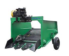 Картоплекопач для мототрактора транспортерна КМТ-1