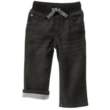 Джинсы темно-серые на флисовой подкладке для мальчиков 2, 3, 4, 5 лет Gymboree (США)