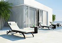 Столик Ромео со стеклом, Модерн 40*40*55 - мебель из искусственного ротанга - Рамсес Ленд