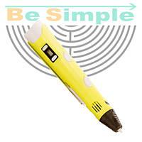 3D ручка MyRiwell  (3Д ручка - 2 поколения) Желтый