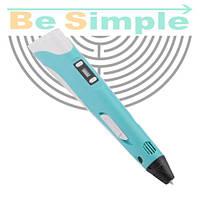 3D ручка MyRiwell  (3Д ручка - 2 поколения) Голубой