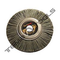 """Щетка дисковая для углошлифовальных машин из полиамида типа """"Пиранья"""" 125 X 22"""