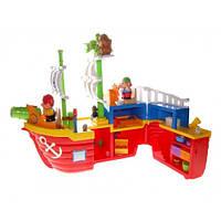 Игровой набор Пиратский корабль свет, звук, KIDDIELAND 038075