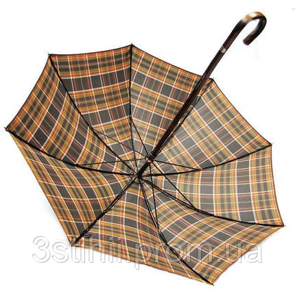 Зонт-трость Doppler VIP механический 23645-4 Клетка, фото 2