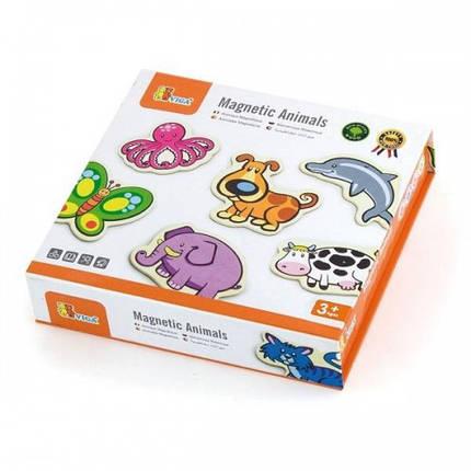 В мире животных набор магнитных фигурок Viga Toys, 20 шт. (58923), фото 2