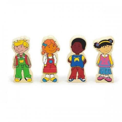 Дети, набор магнитов Viga Toys (59699VG)