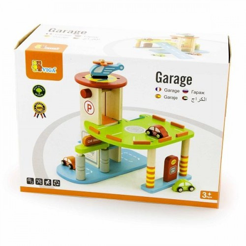 Гараж игровой набор Viga Toys (59963)