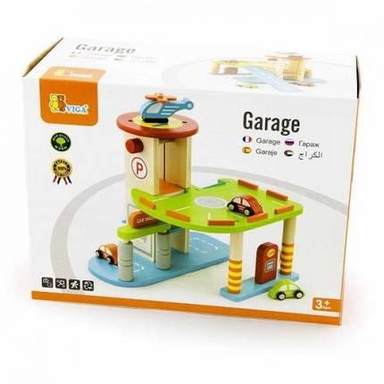 Гараж игровой набор Viga Toys (59963), фото 2