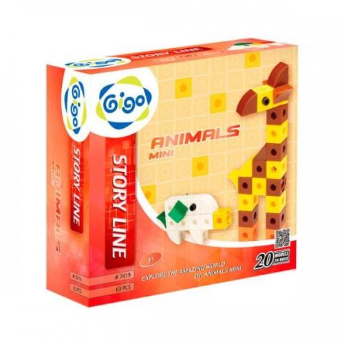 Животные - Мини конструктор Gigo 7419