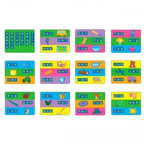 Карточки для набора Занимательные буквы 1401 - набор для обучения Gigo (1402)