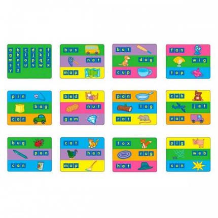 Карточки для набора Занимательные буквы 1401 - набор для обучения Gigo (1402), фото 2