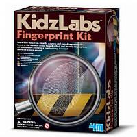 Набор детектива Отпечатки пальцев, набор для творчества 4M (00-03248)