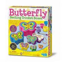 Набор для творчества 4M Шкатулки-бабочки (00-04664)