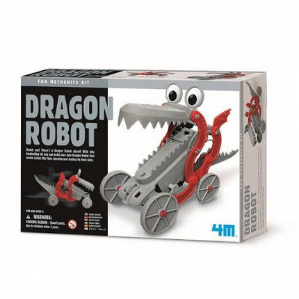 Робот-дракон, набор для творчества 4M (00-03381), фото 2