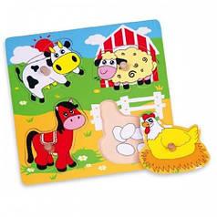 Пазл Viga Toys Ферма (59562)