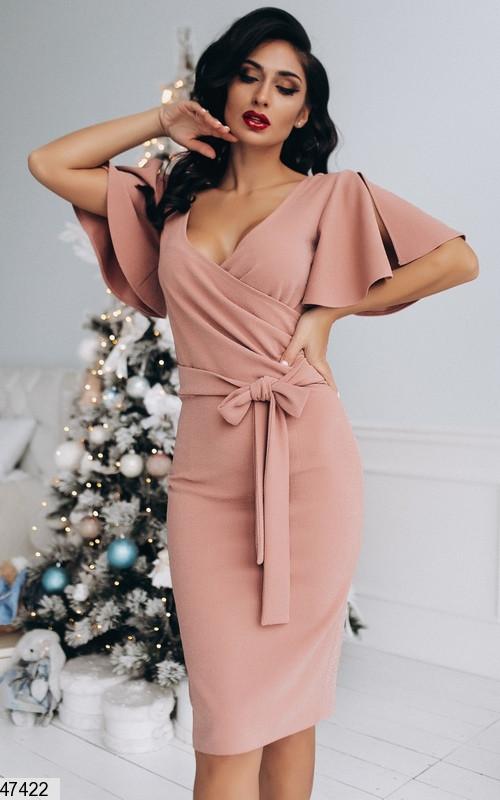 Вечернее платье из ткани с люрексом  Размеры 42-44, 44-46