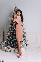 Вечернее платье из ткани с люрексом  Размеры 42-44, 44-46, фото 2